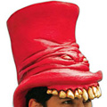 Horrorhoed - rood