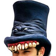 Horrorhoed - blauw